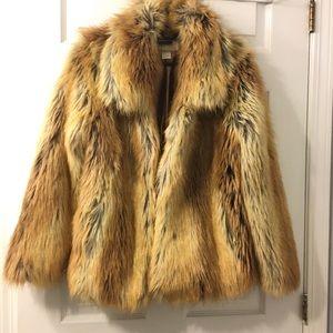 HM faux fur jacket